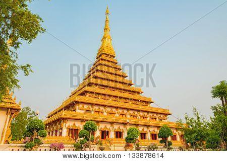 Nong Wang temple at Khon Kaen province, Thailand