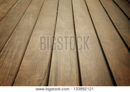 Abstract background old wooden floor boards juxtaposition.