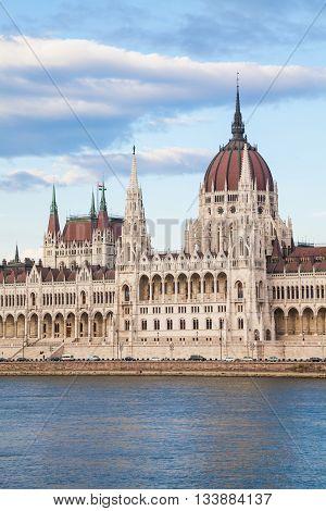 Budapest Parliament View