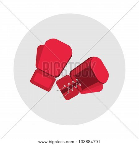 Sports Equipment Red Boxing Gloves