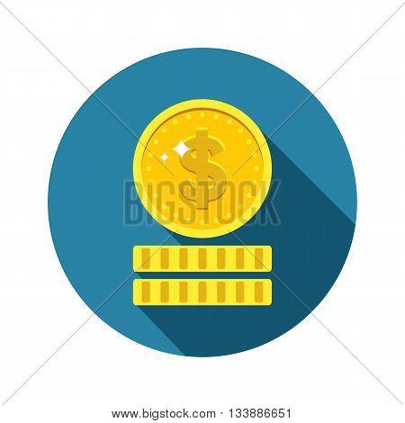 Dollars Money Coin Icon