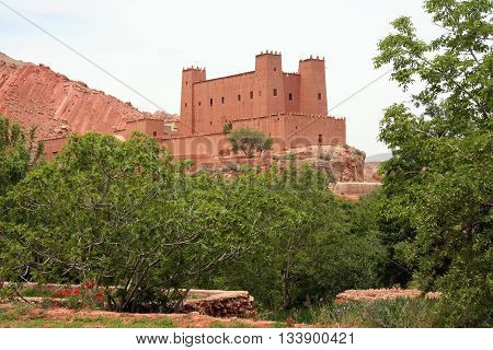 Moroccan popular traditional house - casbah (kasbah)