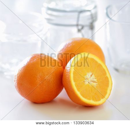 Spanish oranges for the preparation of marmalade