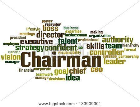 Chairman, Word Cloud Concept 2