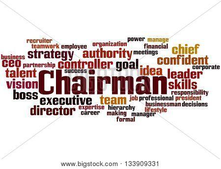 Chairman, Word Cloud Concept 3