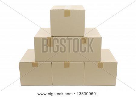 Pile Of Cardboard Box