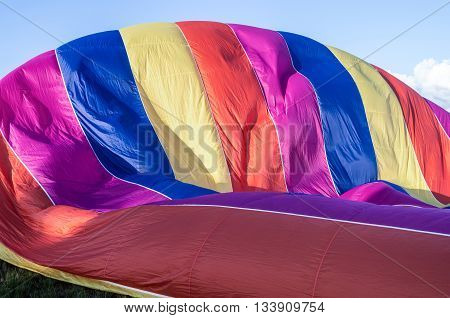 Fillings of the balloon gas for flight