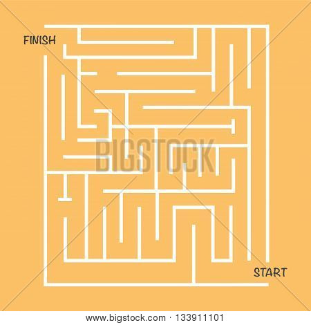 maze labyrinth vector illustration image game puzzle