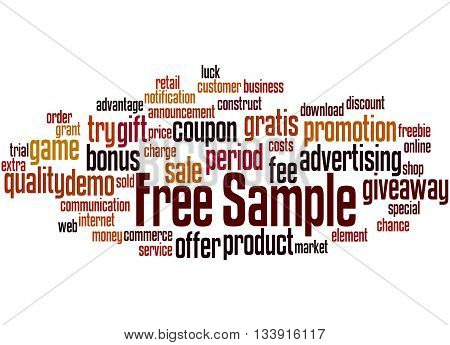 Free Sample, Word Cloud Concept 7