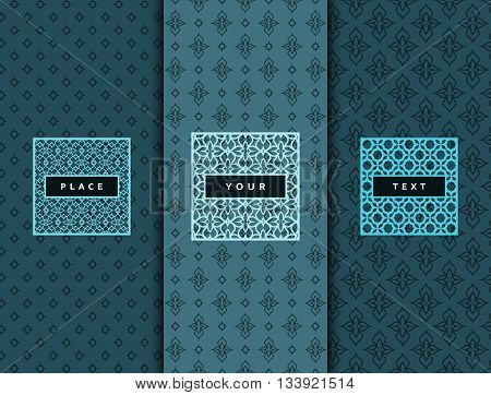 Luxury design elements frame. Abstract luxury backdrop texture, style. Elegant elements labels and frames luxury products