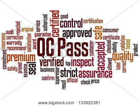 Qc Pass, Word Cloud Concept 9
