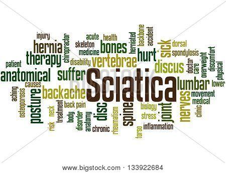 Sciatica, Word Cloud Concept 2
