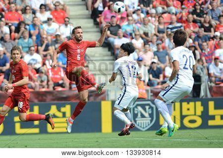 PRAGUE 05/06/2015 _ Tomas Sivok. Friendly match Czech Reublic - South Korea
