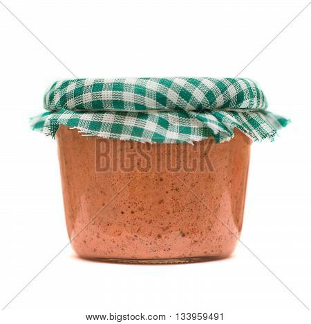 Delicious pate made from tasty fresh meat