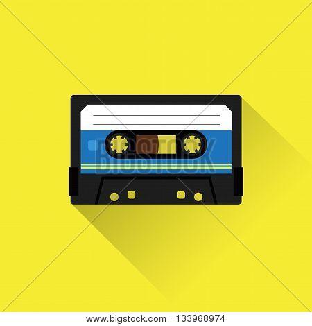 Tape Cassette Icon
