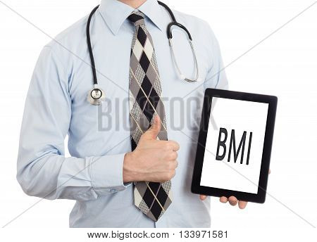 Doctor Holding Tablet - Bmi
