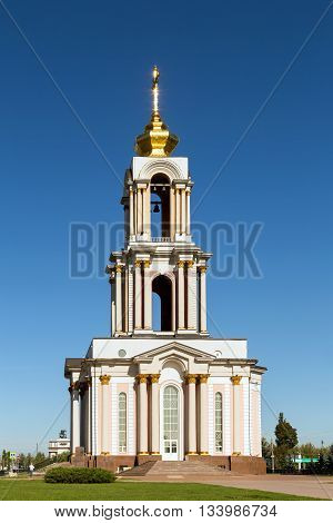 Saint George's church in Kursk, Russia. Sunny day