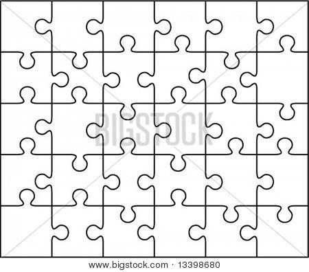 puzzle de Vector
