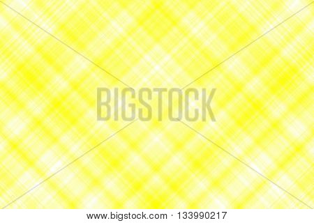 Yellow and white checkered illustration with diagonal lines