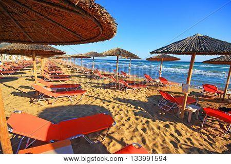 Beautiful view of the island of Zakynthos, Greece