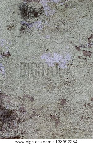 Grunge textured old wall background. Macro view