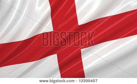 flag of England. flag series.