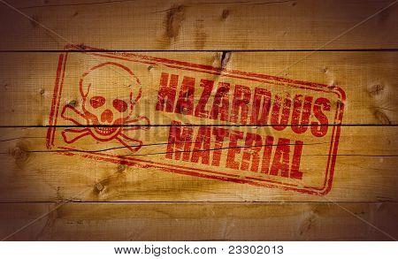Hazardous Material stamp