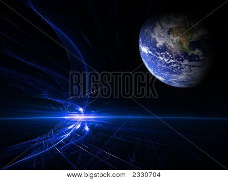 Blue Flame Earth