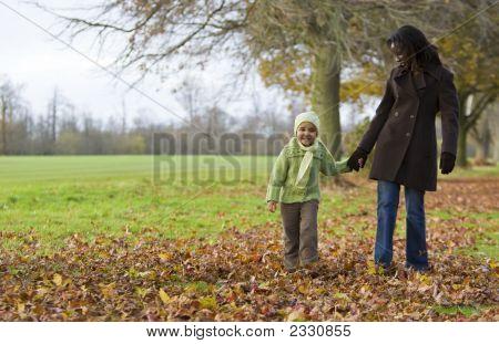 Caminhada de outono