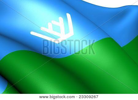 Khanty-mansi Autonomous Okrug Flag