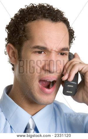 Angry Phone Man
