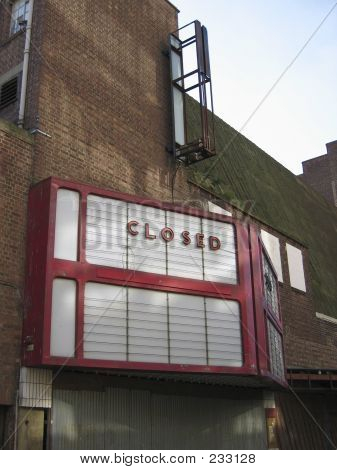 Disused Cinema