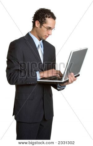 Business Laptop Man