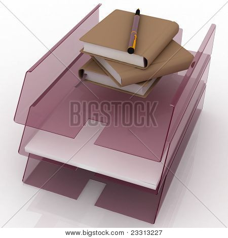 office trays for papers