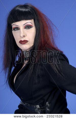 attractive goth