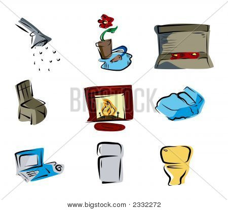 House Room Icons