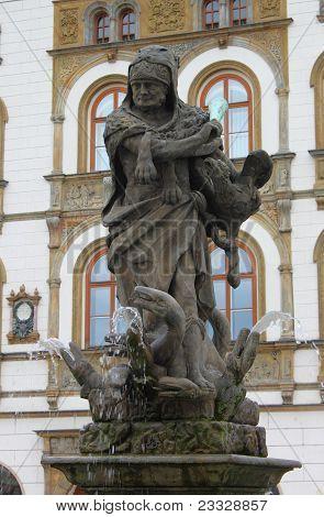 Hercules fountain, Olomouc