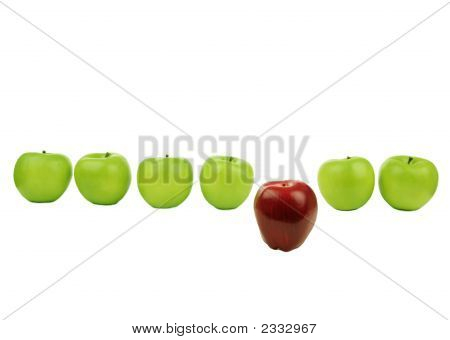 Line Of Apples 2