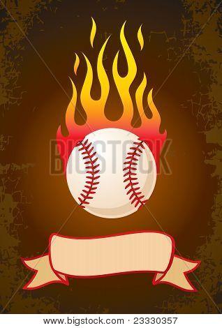 Quema de béisbol