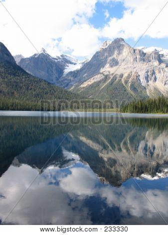 Reflections On Emerald Lake - Yoho National Park, British Columbia, Canada