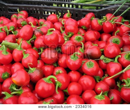Red Cherry Peppers