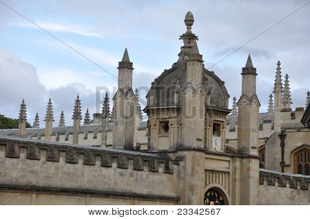 Oxford University in England