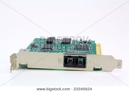 Dial up modem expansion board