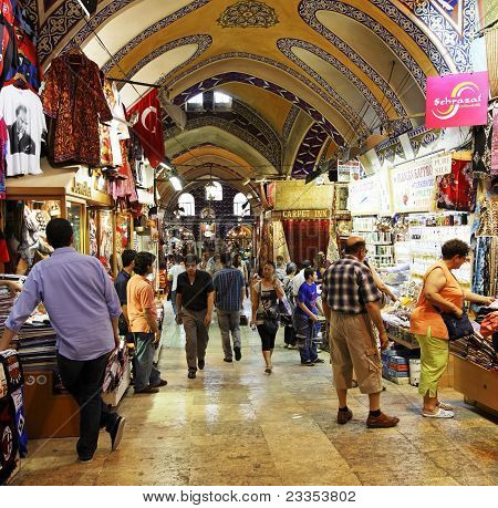 Activity And Trading Grand Bazaar Istanbul