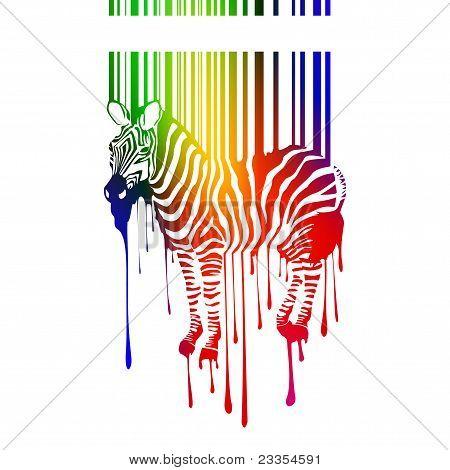 vector zebra silhouette