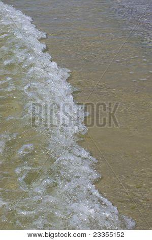 long rushing wave