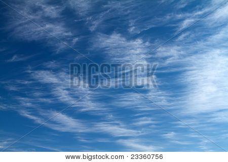 Nuvens sublimes