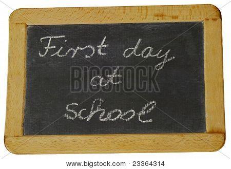 Ersten Schultag