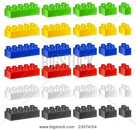 Children Plastic Constructor
