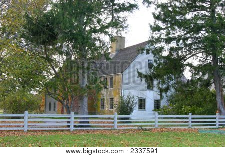 Historical Colonial Home In New England